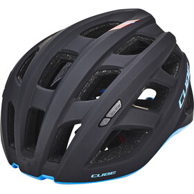 Cube Roadrace Kask rowerowy, czarny/niebieski